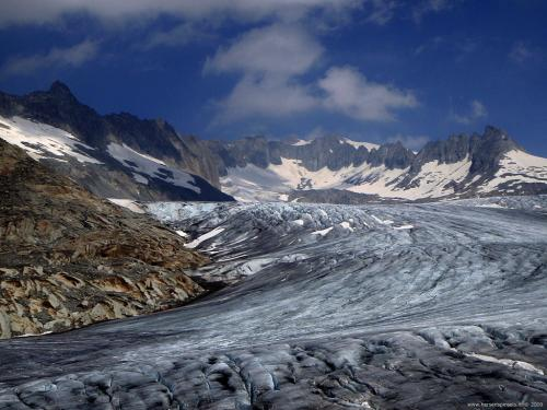 Rhone glacier, HersenSpinsels Has Moved Here