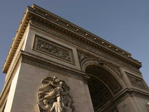 wallpaper: Arc de Triomphe, Parijs