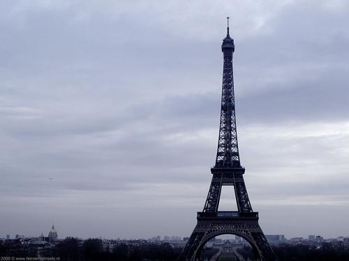 wallpaper: 'Eiffel Tower' - Paris Collection