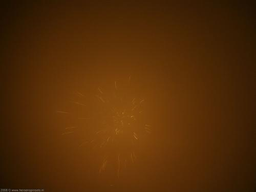 wallpaper: 'Orange and gold sparks' - Fire & Fireworks