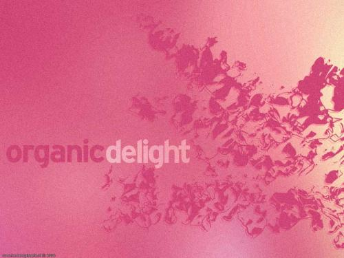 wallpaper: Organic Delight roze, Abstract & Grunge