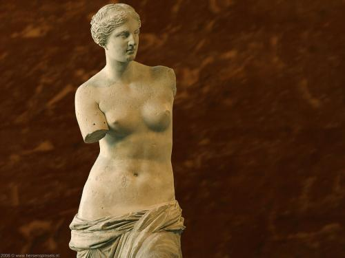 wallpaper: Venus de MIlo, Parijs