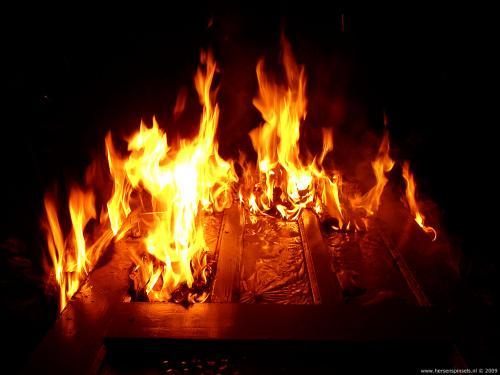 wallpaper: Brandende deur, Vuur & Vuurwerk