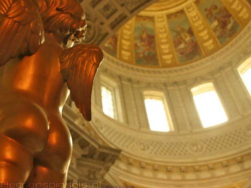 wallpaper: Eglise du Dome, Parijs