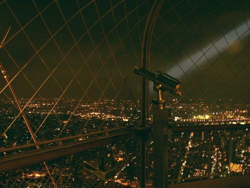 wallpaper: Eiffel's Uitzicht 1, Parijs
