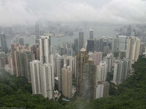 wallpaper: Skyline Hong Kong, Hong Kong