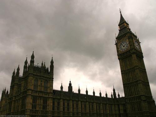 wallpaper: Westminster Palace & Big Ben, Groot-Brittannië