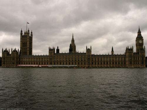 wallpaper: Parlement en Big Ben, Groot-Brittannië