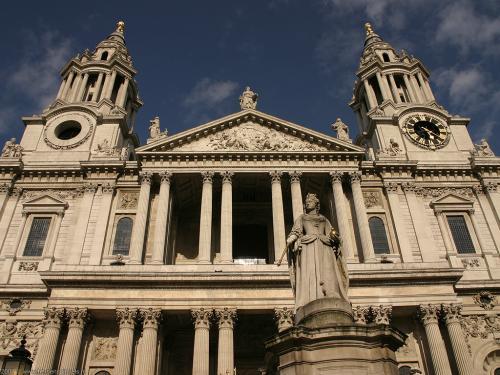 wallpaper: St Paul's Kathedraal  , Groot-Brittannië