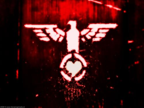wallpaper: Love Eagle 2, Abstract & Grunge