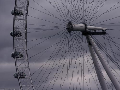 wallpaper: Millenium Wheel, Groot-Brittannië