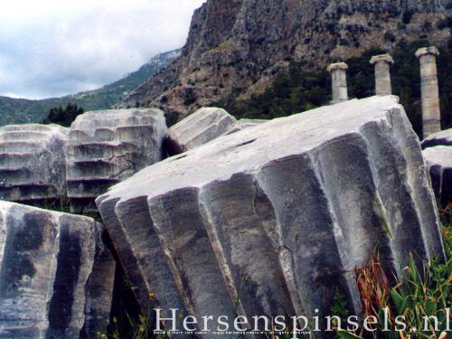 wallpaper: Tempel, HersenSpinsels