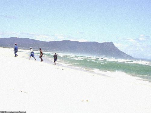 wallpaper: Wit Strand, Zuid-Afrika