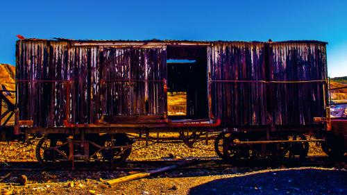 Photograph:  'Cargo cart '